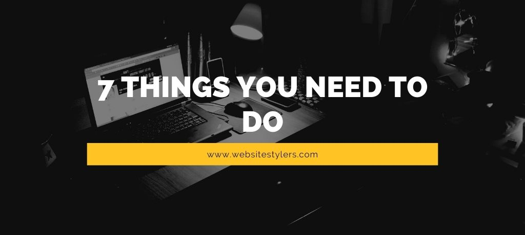 After creating new WordPress site 7 things you need to do